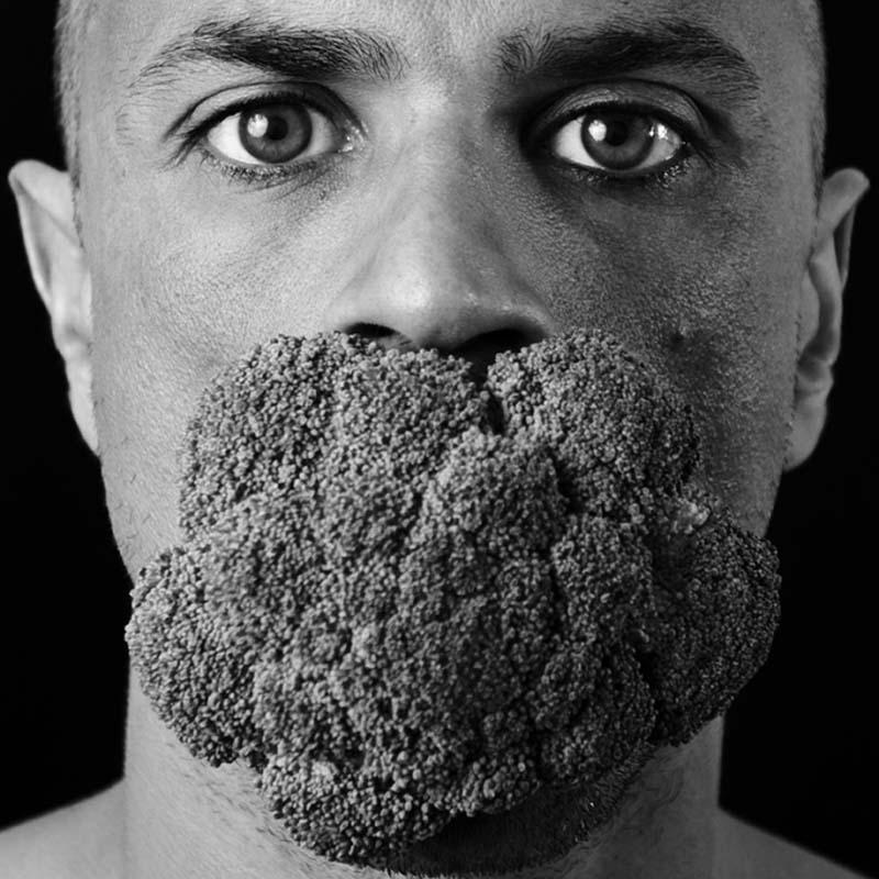 Bizarre portrait shot by Gonzalo Benard