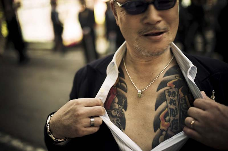 Great work of photojournalism Anton Kusters and Yakuza