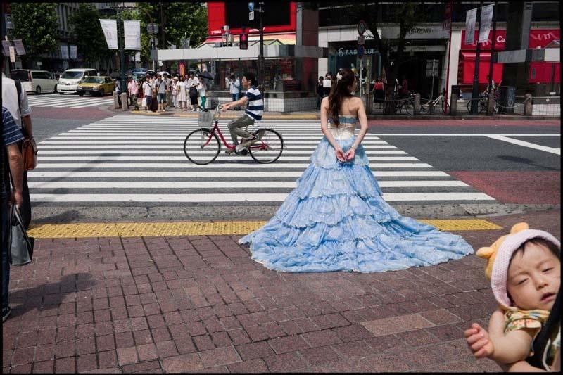 Multi-layered photo composed by Shin Noguchi