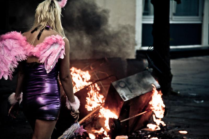 Nico Chiapperini is an Italian street photographer
