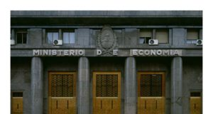 The Argentine Ministerio of Economics photographed by Santiago Porter