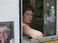 Grumpy looking woman captured by Steven Quinn
