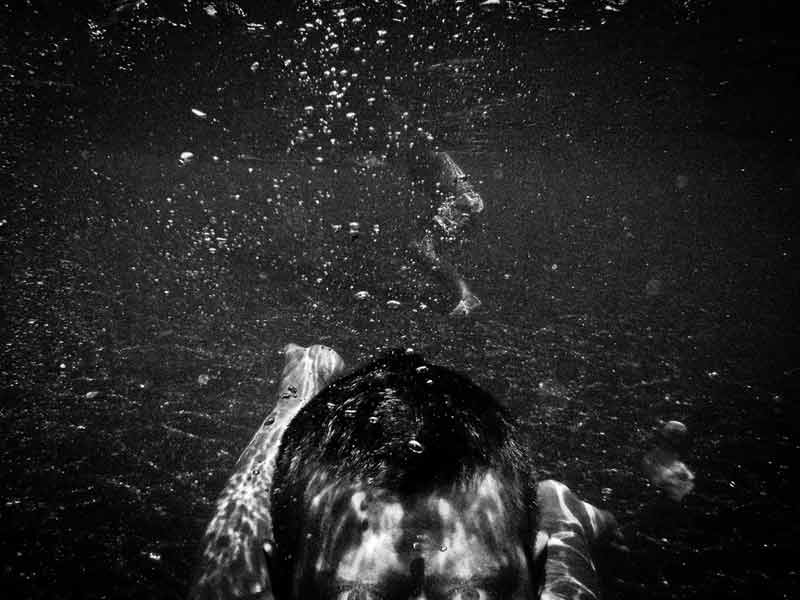 "The series ""The Confession Of A Shark"" by Emilio Barillaro is an underwater photography project"