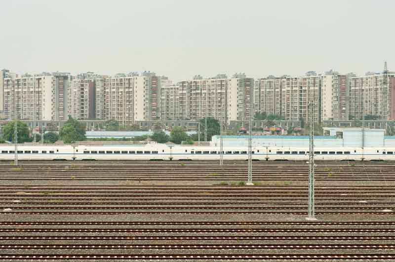 Paul Batt photographically investigated China's urbanization