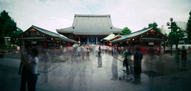 Pinhole image called Asakusa