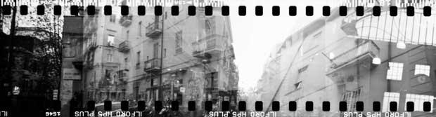 Panorama picture of Napoli taken by Britta Hershman