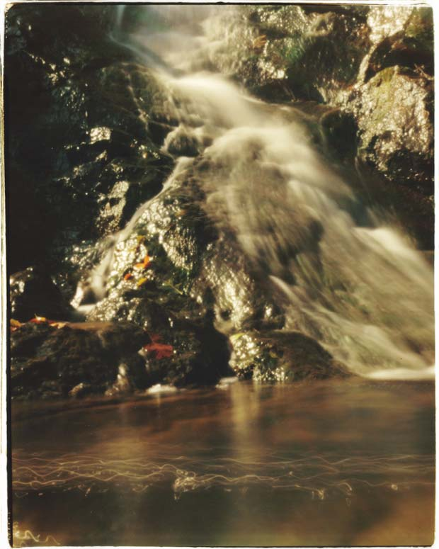 """An image from Christian Finbar Kelly taken with a pinhole camera and titled """"The Kitchen Window Waterfall"""""""