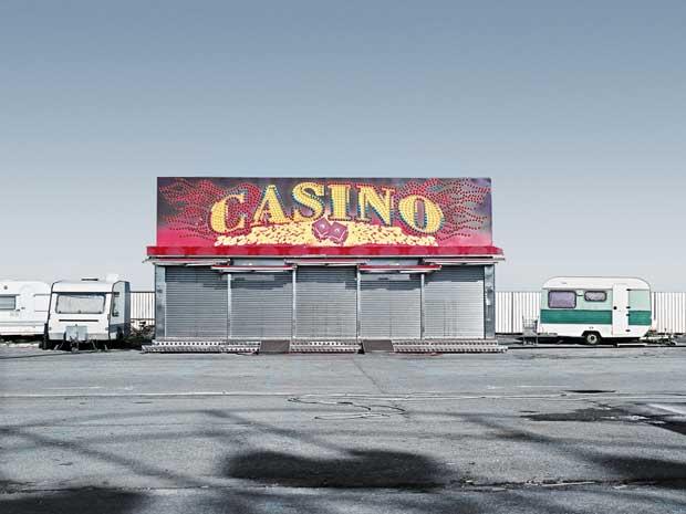 "The feeling of estrangement at an abandoned funfair is the theme of Francesco Margarolis series ""Nowhere"""