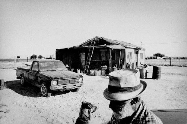 Rural scene on an image taken by Matt Black