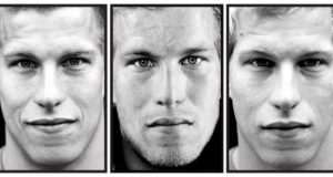 Portrait series from Dutch photograher Claire Felicie photography about marines who fought in Afghanistan