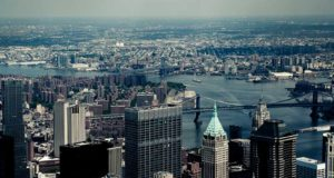 Photographer Eddy Wenting took this photo from above of New York City