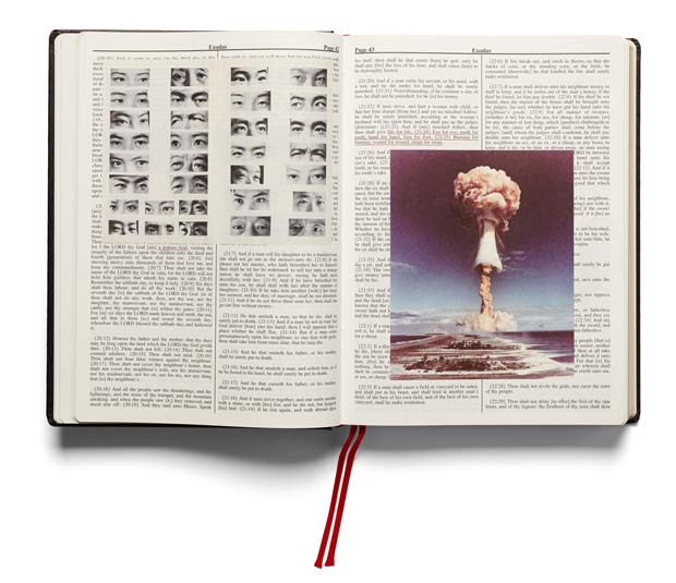 "Adam Broomberg and Oliver Chanarin ""Holy Bible"", 2013. Photograph: Courtesy Mack"