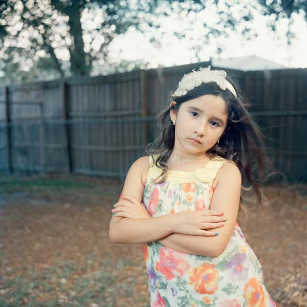 Young and confident girl photographed by Karen Arango