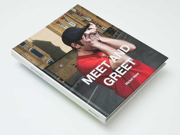 Book Cover of Meet and Greet by Dutch photographer Michel Mees photography