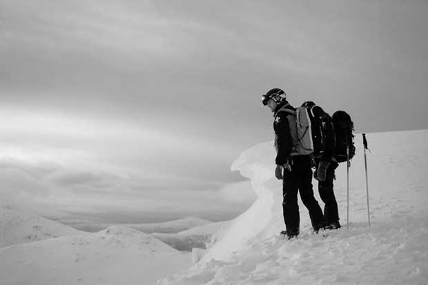 Image from Ski Patrol in Scotland from from James Robertson Photography (UK) copyright - www.jamesrobertsonphotography.co.uk