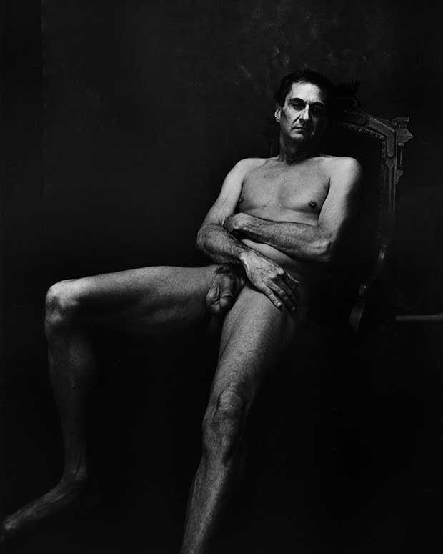 Human male nude photography
