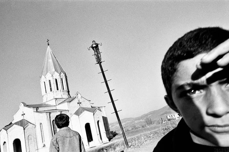 St. Gazantchetots Church, Shushi, from the