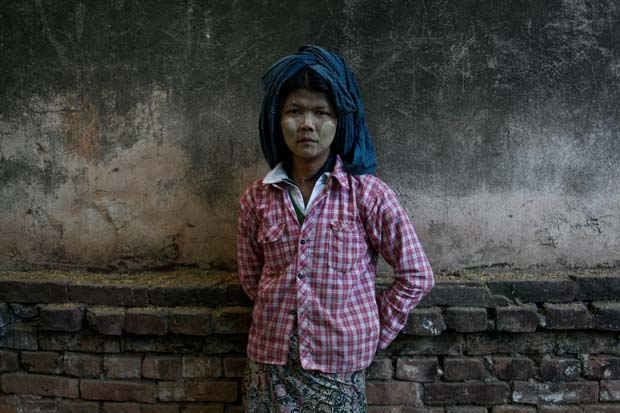 Image of a boy from documentary photographer Karen Dias