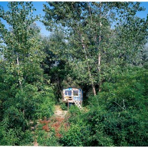 Photograph from the series Hanging Houses from Ettore Moni