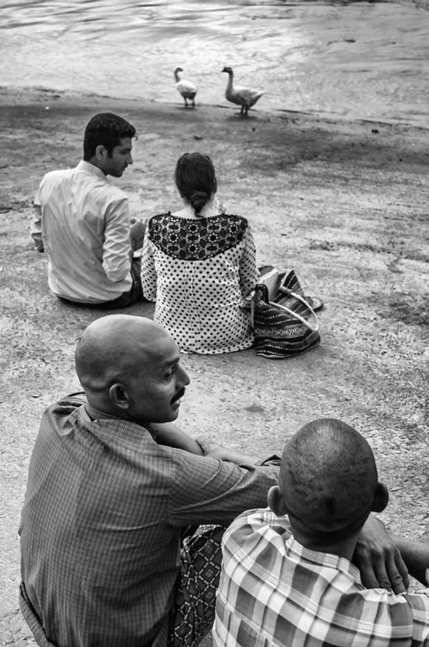 Image from Indian street photographer Soumya Shankar Ghosal