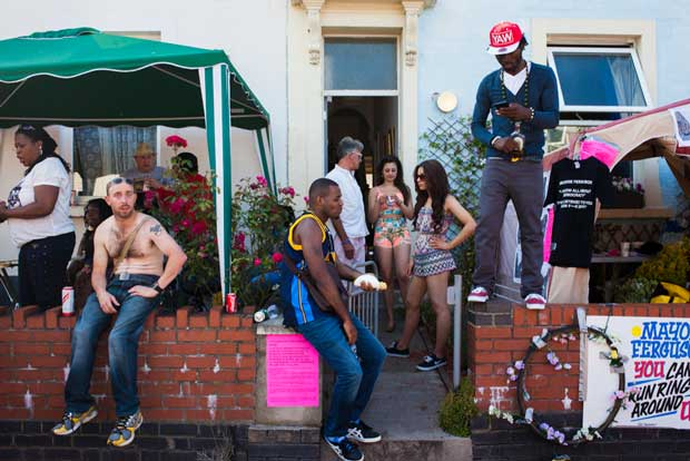 Image from the series From England with Love from French street photographer Jerome Lorieau