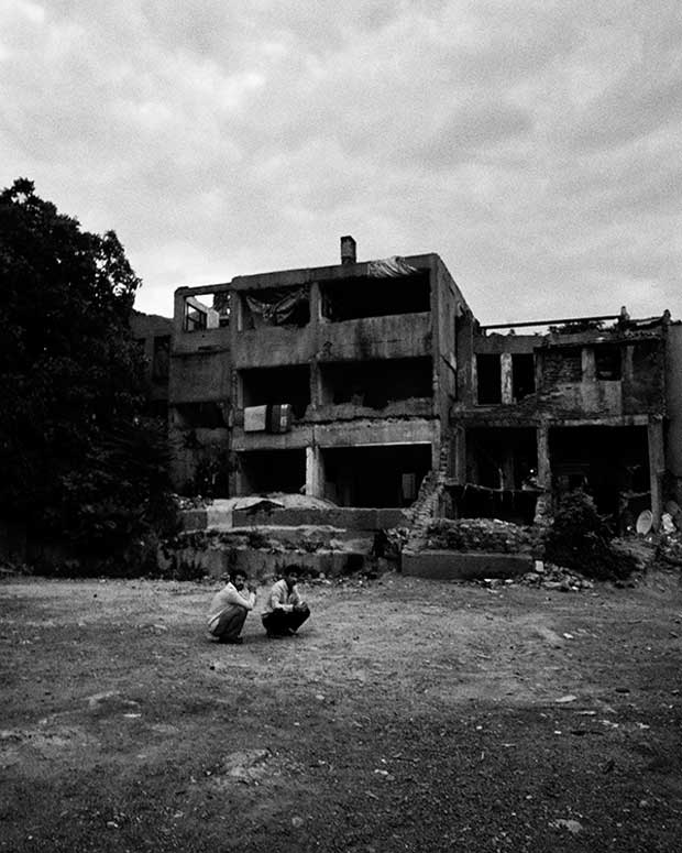 "Image from the series ""The Syrians"" from Finnish documentary photographer Esa Ylijaasko"
