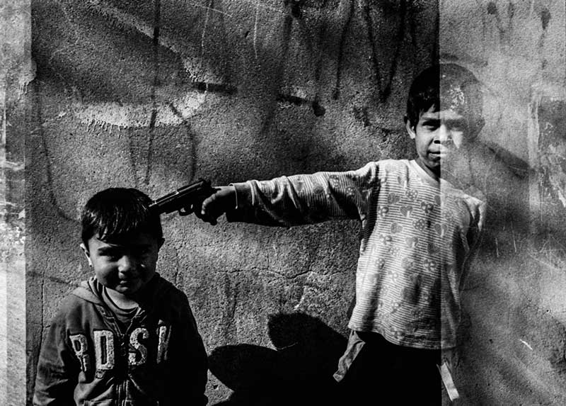 Images from the essay November is a beginning about Syrian refugees and the European refugee crisis by Finnish photojournalist Esa Ylijaasko